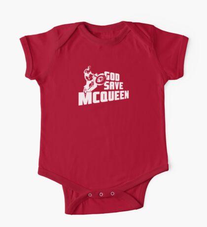 God Save McQueen One Piece - Short Sleeve