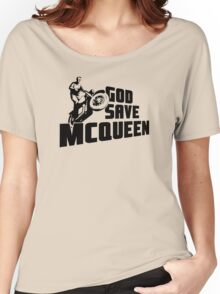 God Save McQueen Women's Relaxed Fit T-Shirt