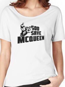God Save McQueen Women's Relaxed Fit T-Shirt