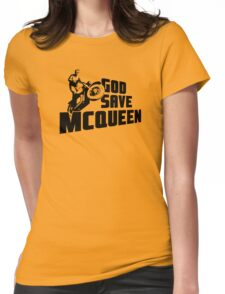 God Save McQueen Womens Fitted T-Shirt