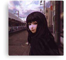 Aobadai Canvas Print