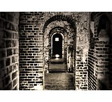 The Dark Tunnel Revisited Photographic Print