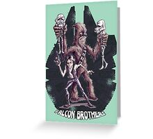 Falcon Brothers Greeting Card