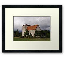 Medieval Pöide Church Framed Print
