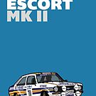 Fortitude's Ford Escort Mark 2 BDA Cosworth by twainf