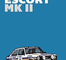 Fortitude's Ford Escort Mark 2 BDA Cosworth by Twain Forsythe