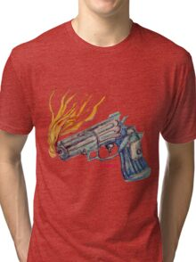 Nathan's Gun Tri-blend T-Shirt