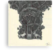 Cædmon Cross Canvas Print