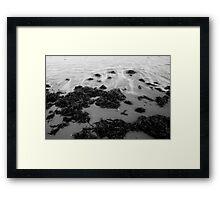 Swirls of Water Framed Print