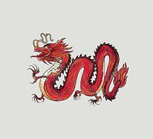 Oriental Red Dragon Unisex T-Shirt