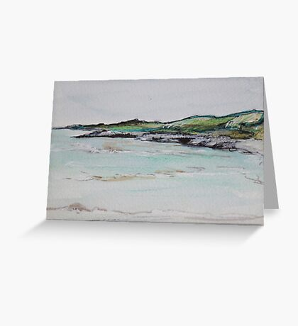 Turquoise Bay, Exmouth Greeting Card