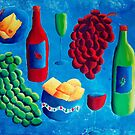 Cheese and Wine  by Julie Nicholls