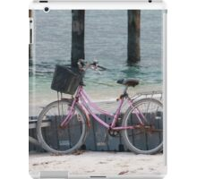Well, can't ride a bike on water iPad Case/Skin