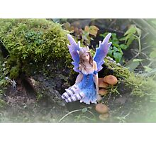 Fairy In The Garden............ Photographic Print