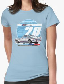 BMW - 3.0 CSL GROUP 2 Womens Fitted T-Shirt