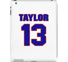 National football player Kerry Taylor jersey 13 iPad Case/Skin
