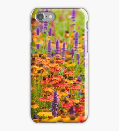 Harlow Carr - Herbaceous Border iPhone Case/Skin
