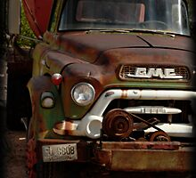 GMC Vintage Cement Truck by Ryan Houston