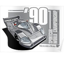 MERCEDES BENZ - C11 GROUP C1 Poster