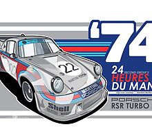 PORSCHE - 911 RSR GROUP S by Evan DeCiren
