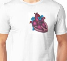 Heart Cross Section Unisex T-Shirt