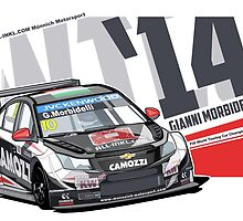 WTCC 2014 – Gianni Morbidelli by Evan DeCiren