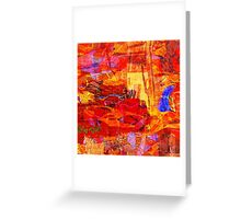 0498 Abstract Thought Greeting Card