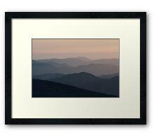 Caliente ridge Framed Print
