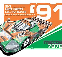 MAZDA - 787B GROUP C2 by Evan DeCiren