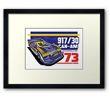 PORSCHE - 917/30 CAN-AM Framed Print