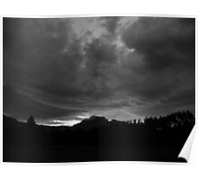 Moody African Sky Poster