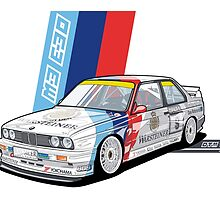 BMW - M3 E30 DTM by Evan DeCiren