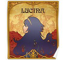 Art Nouveau Lucina Poster
