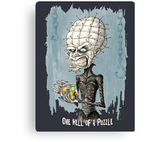 One Hell of a Puzzle Canvas Print