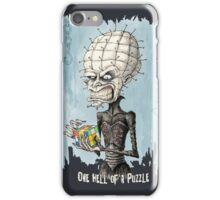 One Hell of a Puzzle iPhone Case/Skin