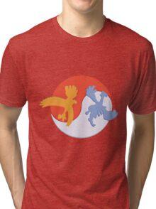 Lugia /  Ho-Oh Tri-blend T-Shirt