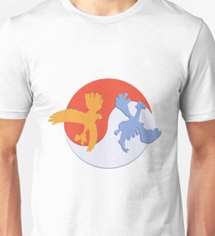 Lugia /  Ho-Oh Unisex T-Shirt