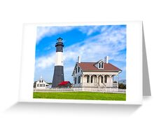 Morning at Tybee Lighthouse Greeting Card