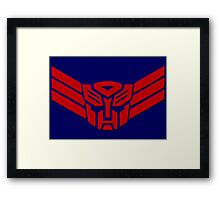 Transformers Autobot Logo Framed Print
