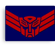 Transformers Autobot Logo Canvas Print