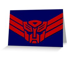 Transformers Autobot Logo Greeting Card