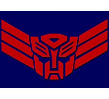 Transformers Autobot Logo Photographic Print