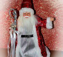 Saint Nick Merry Christmas by Al Bourassa