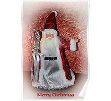 Saint Nick Merry Christmas Poster