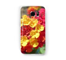 Yellow and Red Flower Samsung Galaxy Case/Skin