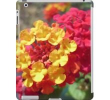 Yellow and Red Flower iPad Case/Skin