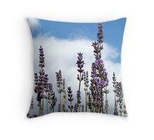 Lavender Glory Throw Pillow