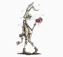 Bugs Zombunny (Sepia) by PickledCircus