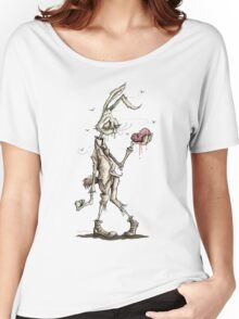 Bugs Zombunny (Sepia) Women's Relaxed Fit T-Shirt