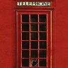 Vintage Telephone Box iPhone Case by ImageMonkey